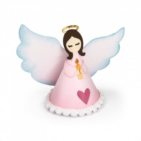 Fustella Sizzix Thinlits - Angel 3-D