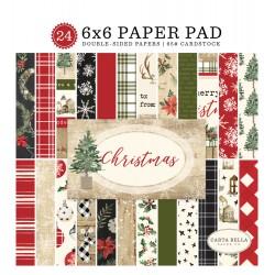 "Paper Pads 6""X 6"" Carta Bella  - Christmas"