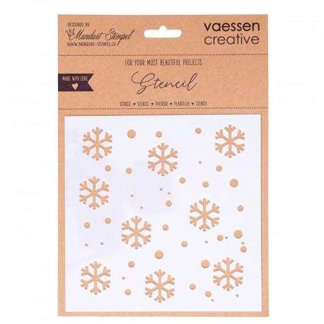 Vaessen Creative - Stencil - Snowflakes