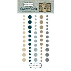 Enamel Dots Carta Bella - Old World Travel Collection