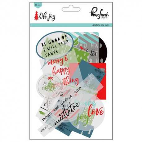 Die Cuts - Pink Fresh Studio - Oh Joy Collection