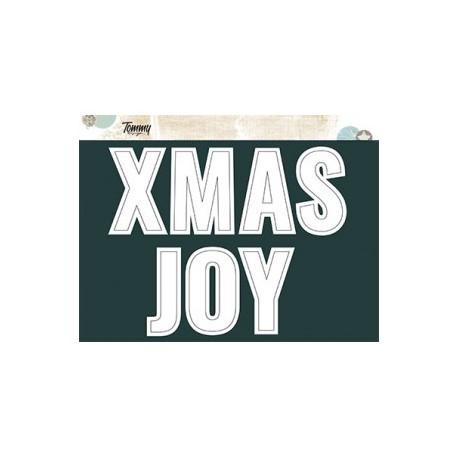 Scritte in Cornice - XMAS JOY - Tommy Design
