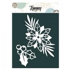 Le Maschere - STELLA DI NATALE E AGRIFOGLIO - Tommy Design