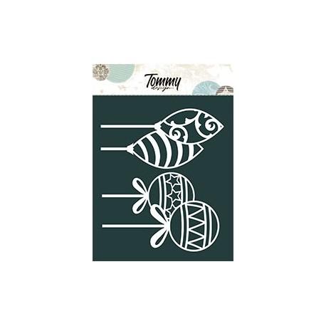 Le Maschere - PALLINE DI NATALE - Tommy Design