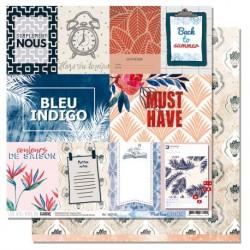 Carta Les Ateliers de Karine - Blue Batik - Must Have