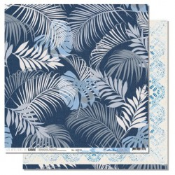 Carta Les Ateliers de Karine - Blue Batik - Exotic Blue