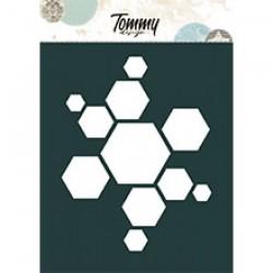Stencil - ESAGONI - Tommy Art