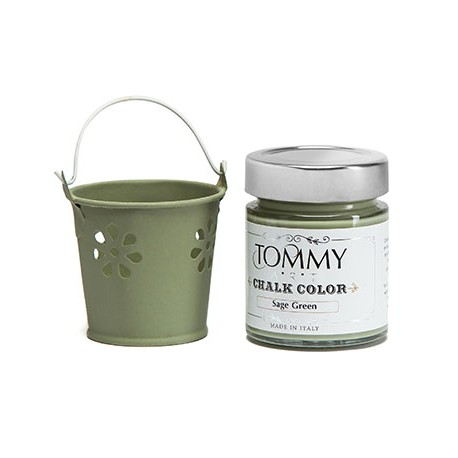 VERDE SALVIA - CHALK COLOR - Linea Shabby - Tommy Art