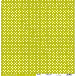 Cartoncino petits pois - Vert