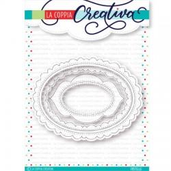 Fustella La Coppia Creativa - Ovali Creativi