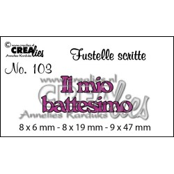 Fustella CreaLies - Il mio battesimo