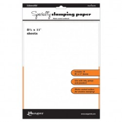 Inkssentials Specialty Stamping Paper 22x28cm - Ranger