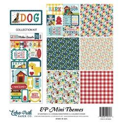 Kit carte Echo Park Mini Themes - Dog Collection
