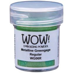 Wow! - Metalline Greengage regular