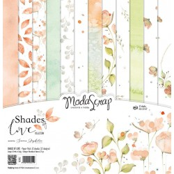 "Kit carte ModaScrap -12""x 12"" SHADES OF LOVE"