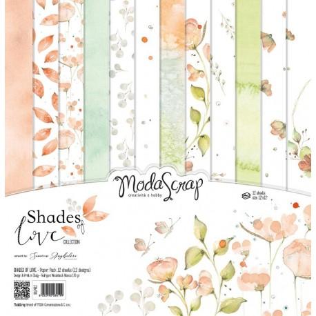 "Kit carte ModaScrap -12""x 12"" SHADES OF LOVE"