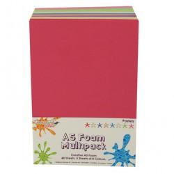Pacco gomma crepla - Colori pastello