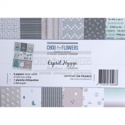 Kit Carte - Chou & Flowers - ESPRIT HYGGE