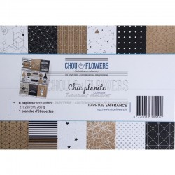 Kit Carte - Chou & Flowers - CHIC PLANETE