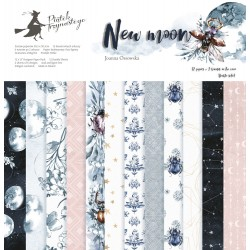 PIATEK13 - New Moon  - PAPER SET 12x12""