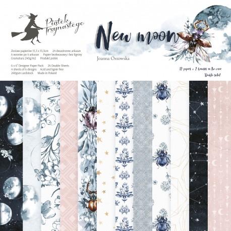"PIATEK13 - New Moon - PAPER PAD 6X6"""