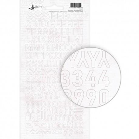 PIATEK13 - Awakening - Alphabet sticker sheet Awakening 02