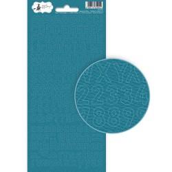 PIATEK13 - Happy Birthday - Alphabet sticker sheet 01