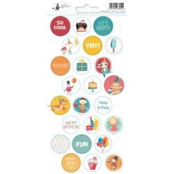 PIATEK13 - Happy Birthday - Stickers 03