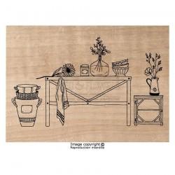 Timbro legno Chou & Flowers - AMBIANCE CUISINE