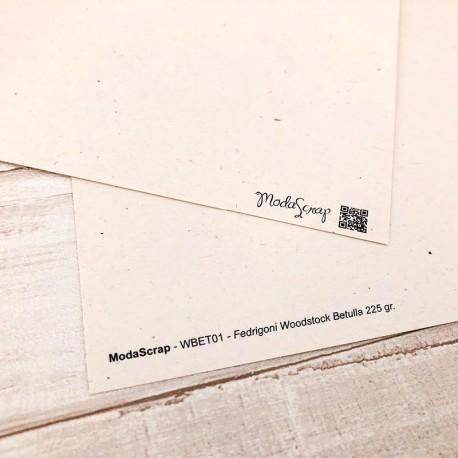 """Carta ModaScrap - 12""""x 12"""" CARTONCINO WOODSTOCK BETULLA"""
