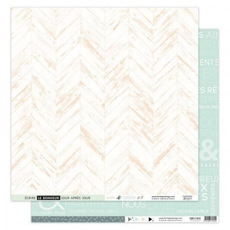 Carta Florileges Design - SOFT & GREEN n.5