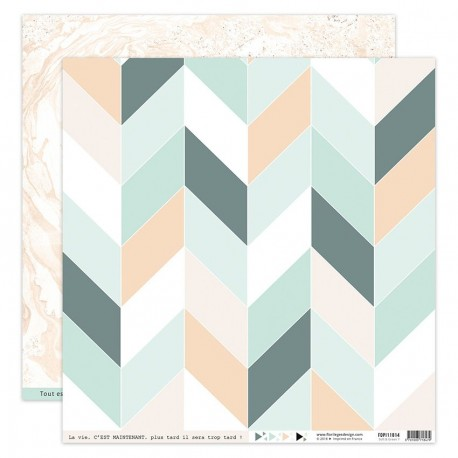 Carta Florileges Design - SOFT & GREEN n.7