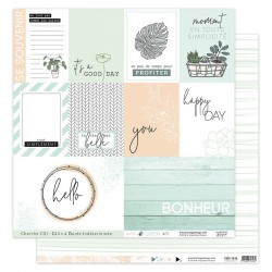 Carta Florileges Design - SOFT & GREEN n.3