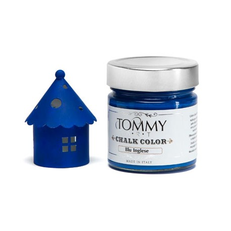 BLU INGLESE - CHALK COLOR - Linea Shabby - Tommy Art