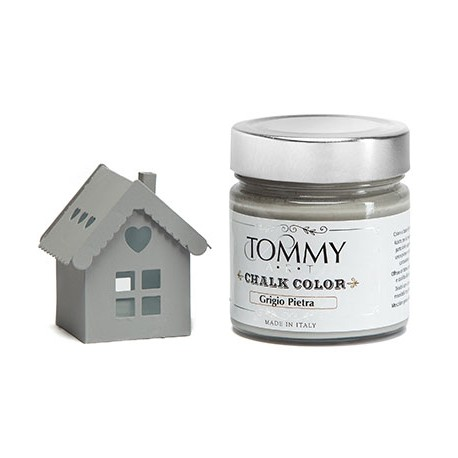 GRIGIO PIETRA - CHALK COLOR - Linea Shabby - Tommy Art