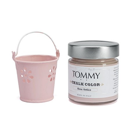 ROSA ANTICO - CHALK COLOR - Linea Shabby - Tommy Art