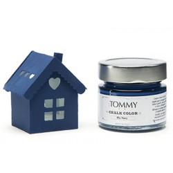 BLU NAVY - CHALK COLOR - Linea Shabby - Tommy Art