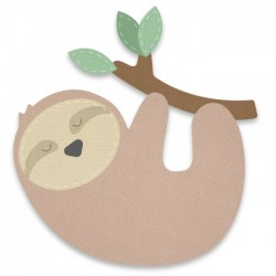 Fustella Sizzix Bigz - Sloth
