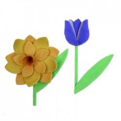 Fustella Sizzix Bigz L - Spring Flowers