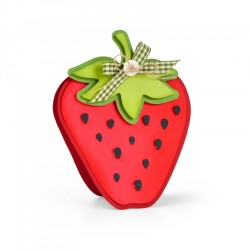 Fustella Sizzix Framelits - Strawberry Fold-its