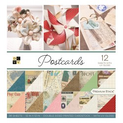 DCWV 12x12 pad - Postcards