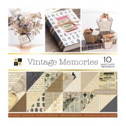DCWV 12x12 pad - Vintage Memories