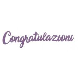 Fustella Impronte D'Autore  - Congratulazioni