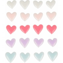Enamel Dots Artemio - Hearts Lovely Swan