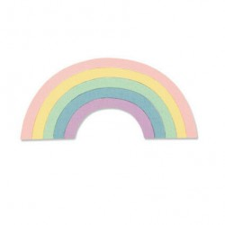 Fustella Sizzix Thinlits - Rainbow