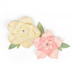 Fustella Sizzix Framelits - Floral Frames