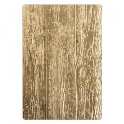 Embosing folder Sizzix 3-D Texture Fades - Lumber