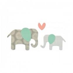 Fustella Sizzix Bigz - Elefanti