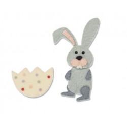 Fustella Sizzix Bigz - Coniglietto
