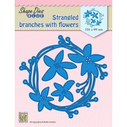 Fustella - Nellie Snellen - Strangeled branches with flowers